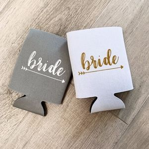 BRIDE DRINK HOLDERS // COOZIES